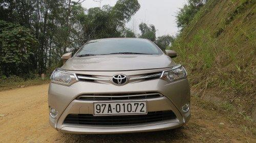 Bán xe Toyota Vios 1.5 MT đời 2014, 475tr