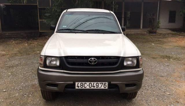 Bán ô tô Toyota Hilux đời 2005, màu trắng