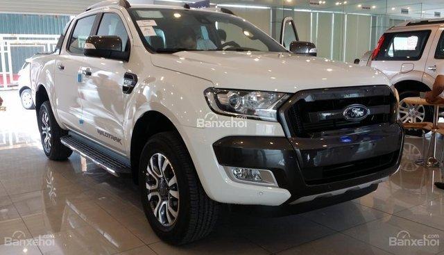 Cần bán xe Ford Ranger Wildtrak 2.2L AT năm 2018, màu trắng, nhập khẩu, 815 triệu