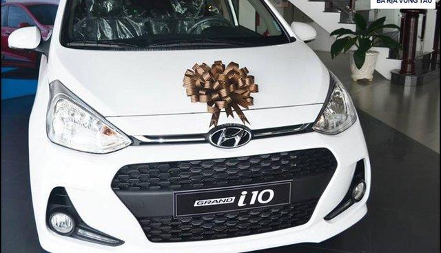 Chỉ với 112 tr Hyundai Grand I10 1.2 số sàn 2019 + giao xe ngay + Hỗ trợ vay liên hệ Hotline/Zalo: 0933.222.638