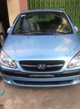 Bán ô tô Hyundai Getz đời 2010, màu xanh lam
