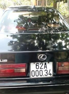 Bán Lexus ES đời 1992, màu đen, nhập khẩu
