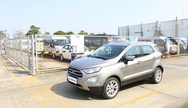 Bán Ford Ecosport Titanium 2018, đủ màu, hỗ trợ trả góp lên tới 90% giá trị xe, vui lòng liên hệ Mr Trung 096766464