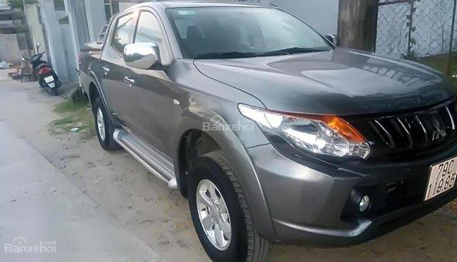 Cần bán gấp Mitsubishi Triton 2017, màu xám, nhập khẩu nguyên chiếc, 550 triệu