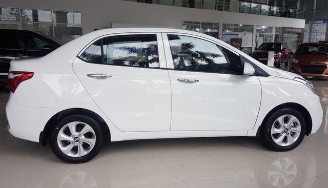 """""""Sốc"""" Tặng 10 triệu phụ kiện - Chỉ 125 triệu - Hyundai Grand i10 Sedan 1.2MT 2019, trả góp 85% - SĐT 0933598285"""