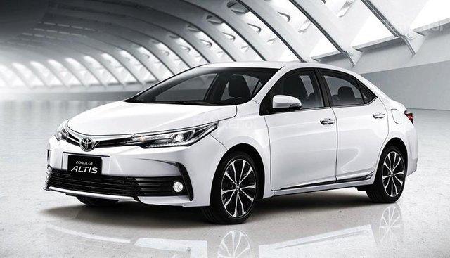 Toyota Sông Lam - Bán xe Corolla Altis 1.8 CVT 2018 tốt nhất Nghệ An, hỗ trợ góp 80%, hotline: 0968 56 5225