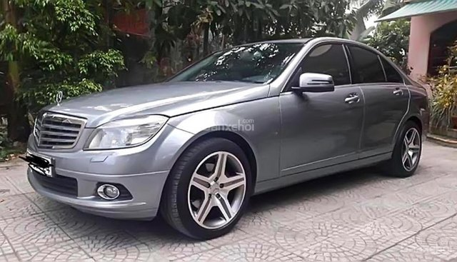 Bán Mercedes C250 CGI đời 2009, màu bạc