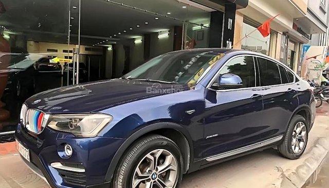 Bán BMW X4 đời 2016, màu xanh lam, nhập khẩu