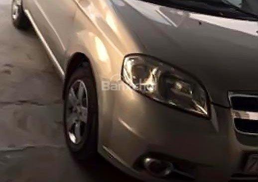 Cần bán lại xe Chevrolet Aveo 1.5 MT đời 2012, màu bạc giá cạnh tranh
