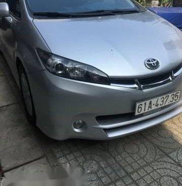 Bán xe Toyota Wish 2011, màu bạc, nhập khẩu