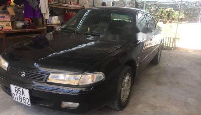 Bán Mazda 626 đời 1992, màu đen xe gia đình