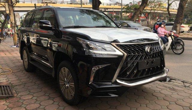 Bán xe Lexus LX Super Sports 570S, năm sản xuất 2018, màu đen, nhập khẩu