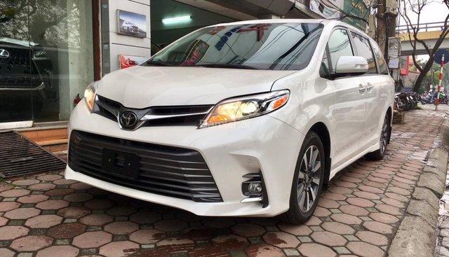 Cần bán xe Toyota Sienna Limited sản xuất 2019, màu trắng, xe nhập Mỹ giá tốt LH: 0905.098888 - 0982.84.2838