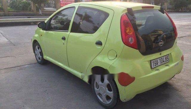 Bán BYD F0 sản xuất 2011, màu vàng, nhập khẩu số sàn