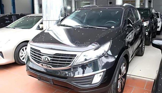 Cần bán lại xe Kia Sportage 2.0 AT 2013, màu đen, nhập khẩu nguyên chiếc