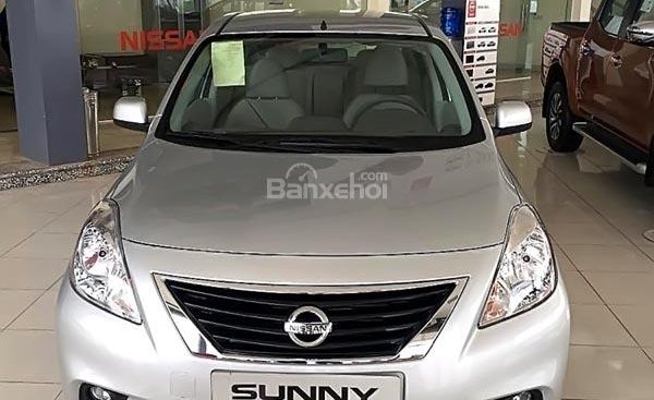 Bán xe Nissan Sunny XL 2018, màu bạc