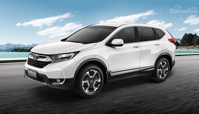 Honda Ôtô Hải Phòng: Bán Honda CR-V 2019 NK Thái ưu đãi lớn, nhiều quà tặng, có xe giao ngay, liên hệ 0937282989