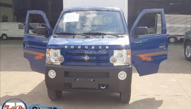 Bán xe tải nhỏ Dongben 870kg- thùng composite chống rỉ - trả góp%