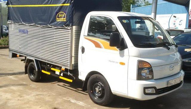 Bán xe H150 thùng mui bạt, 2 vách, thùng đẹp, xe chất lượng tải Hyundai Cần Thơ