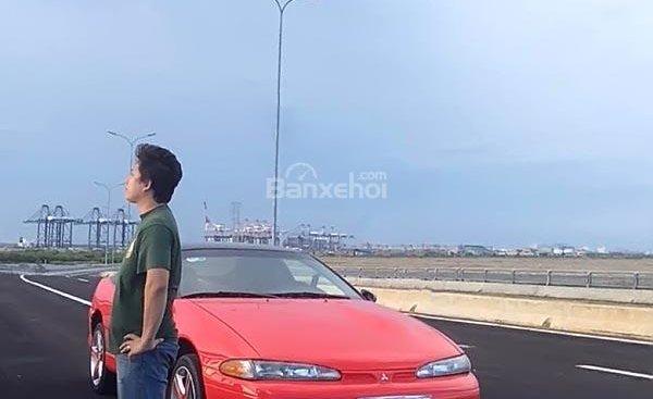 Bán ô tô Mitsubishi Eclipse năm sản xuất 1992, màu đỏ, xe nhập chính chủ, giá chỉ 250 triệu