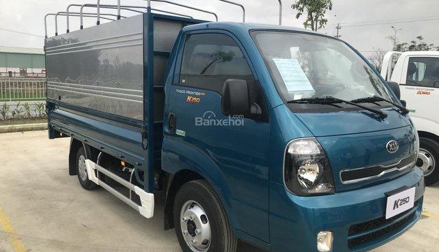 Bán Kia K250, tải trọng 1 tấn 4 và 2 tấn 4, nâng tải mới, máy điện chuẩn Euro 4