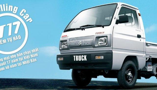 Bán Suzuki Super Carry Truck đời 2018, màu trắng