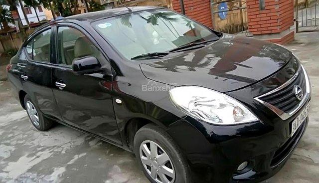Cần bán xe Nissan Sunny XL sản xuất năm 2014, màu đen chính chủ giá cạnh tranh
