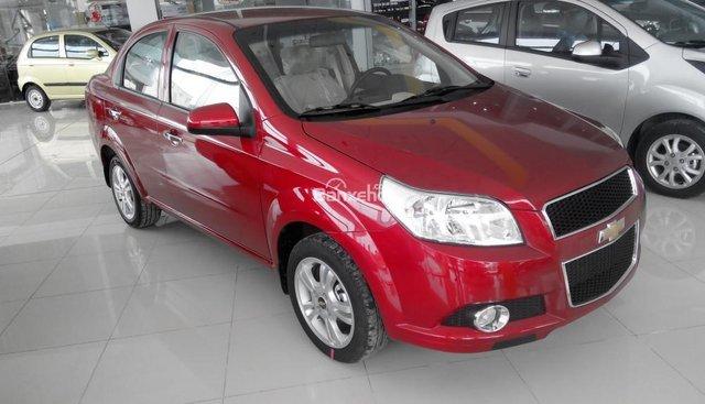 Bán xe Chevrolet Aveo số sàn, đủ màu, giao ngay, hỗ trợ đăng ký đăng kiểm
