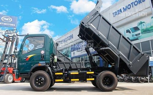 Bán xe tải ben Cửu Long TMT 6.5 tấn TMT/ST8165D - 2017
