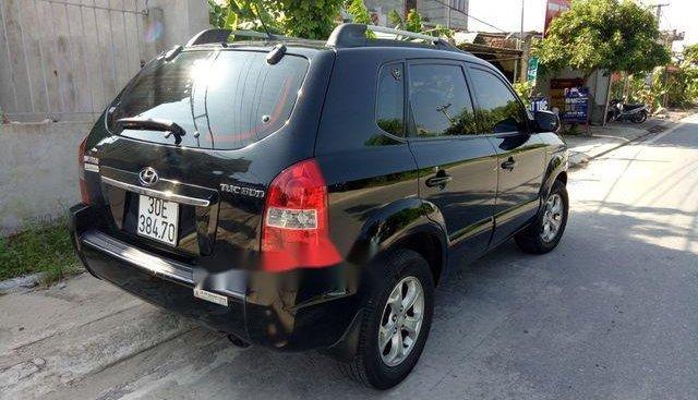 Cần bán lại xe Hyundai Tucson sản xuất năm 2009, màu đen, giá chỉ 385 triệu