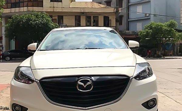 Bán ô tô Mazda CX 9 3.7 AT AWD 2014, màu trắng, xe nhập