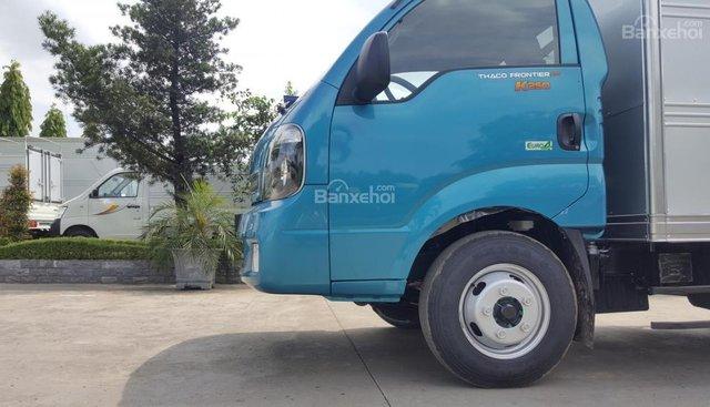 Bán xe tải Thaco Kia K165 sản xuất 2018, động cơ Hyundai nhập, phanh ABS, hỗ trợ trả góp 80%