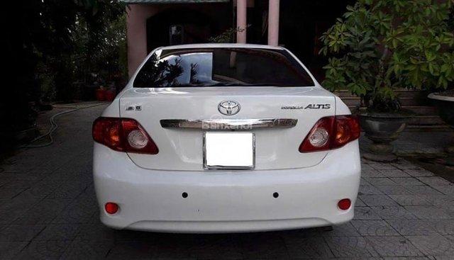 Bán xe Toyota Corolla altis 1.8G sản xuất 2009, màu trắng