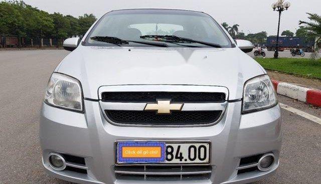 Cần bán Chevrolet Aveo sản xuất 2011, màu bạc, giá chỉ 232 triệu
