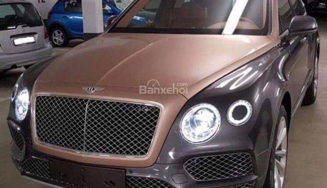 Bán xe Bentley Bentayga 4.0L sản xuất năm 2018, màu xám (ghi), xe nhập Mỹ