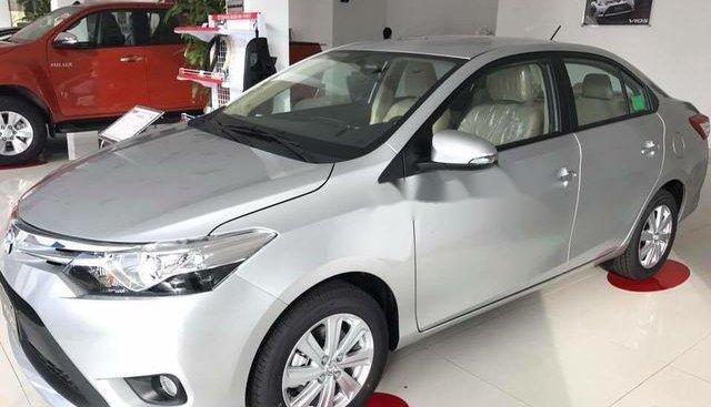 Cần bán xe Toyota Vios G đời 2018, màu bạc, giá chỉ 550 triệu