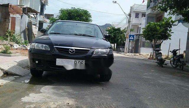 Cần bán lại xe Mazda 626 sản xuất 2002, màu đen, 175 triệu