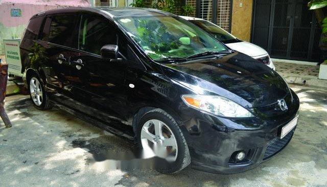 Bán Mazda 5 đời 2007, màu đen, xe nhập