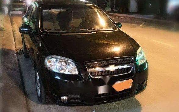 Bán ô tô Chevrolet Aveo năm sản xuất 2012, màu đen