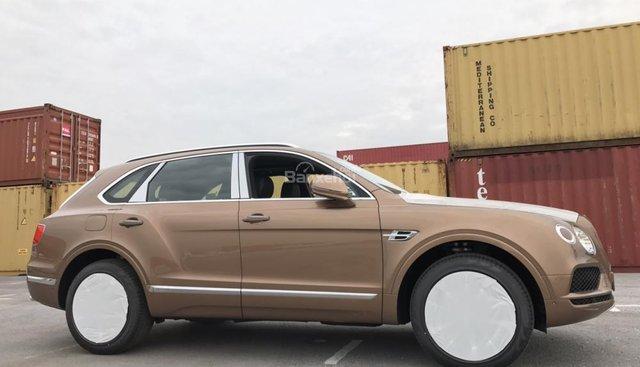 Cần bán Bentley Bentayga đời 2018, màu nâu, nhập khẩu nguyên chiếc