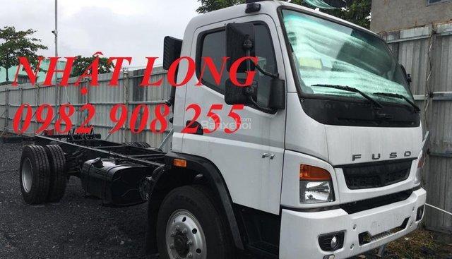 Bán xe tải Fuso FI nhập khẩu chính hãng, tải trọng 7 Tấn, thùng dài 5.9m, giá tốt giao ngay