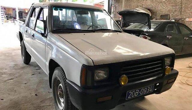 Bán Mitsubishi L200 2.5L 4x4 MT sản xuất 1996, màu trắng, xe nhập