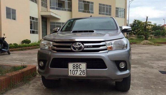 Cần bán xe Toyota Hilux 2.8G 4x4 MT đời 2016, nhập khẩu nguyên chiếc, giá tốt