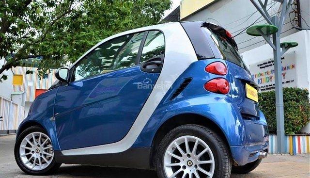 Bán Smart Forfour 1.0 AT đời 2009, màu xanh lam, xe nhập