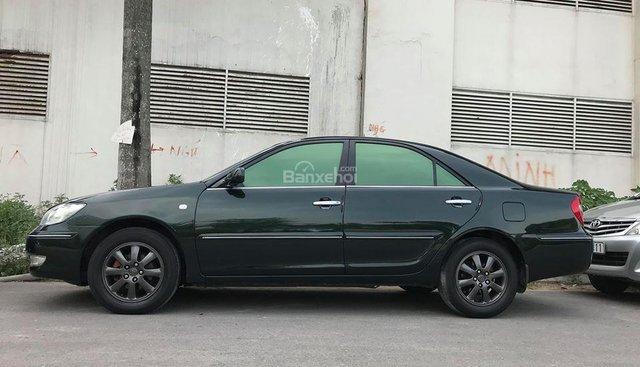 Cần bán Toyota Camry V6 AT đời 2003, màu xanh