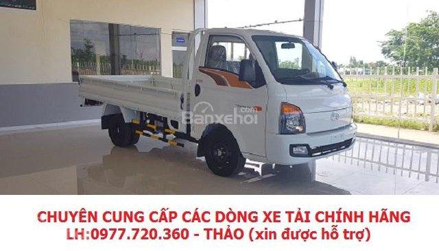 Bán xe tải Hyundai Porter HD150 1 tấn 5, thùng lửng, giá thành cạnh tranh