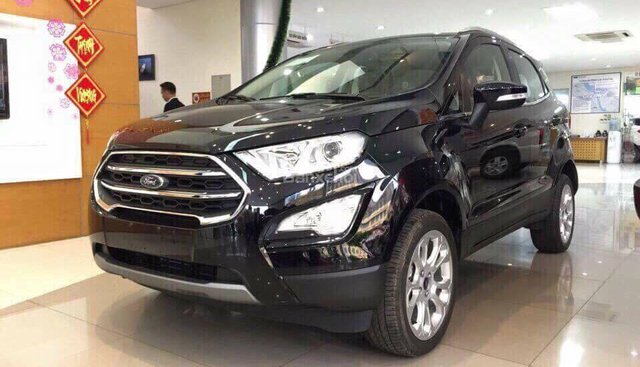 Bán Ford EcoSport 1.5 năm 2019, màu đen