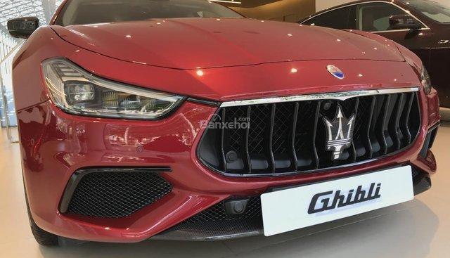 Cần bán Maserati Ghibli Gransport 2018, màu đỏ, nhập khẩu nguyên chiếc