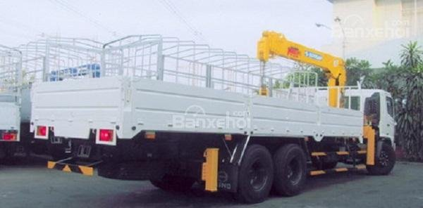 Bán xe Hino 3 chân lắp cẩu 6 tấn Soosan