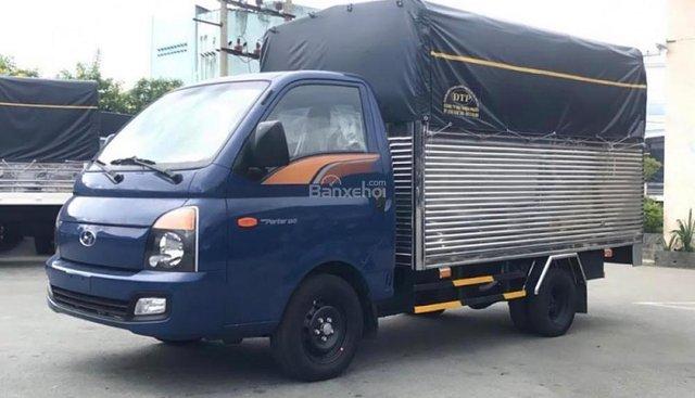 Bán Hyundai Porter Mighty H150 năm sản xuất 2018, màu xanh lam, nhập khẩu nguyên chiếc, giá 400tr